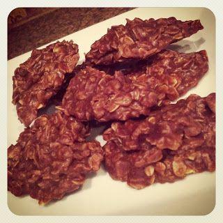 """Bella Bama: No Bake Oatmeal Cookies ~ """"Puppy Poop Cookies"""""""