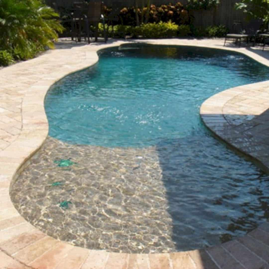 Coolest Small Pool Ideas With 9 Basic Preparation Tips In 2020 Small Inground Pool Pools For Small Yards Small Backyard Pools