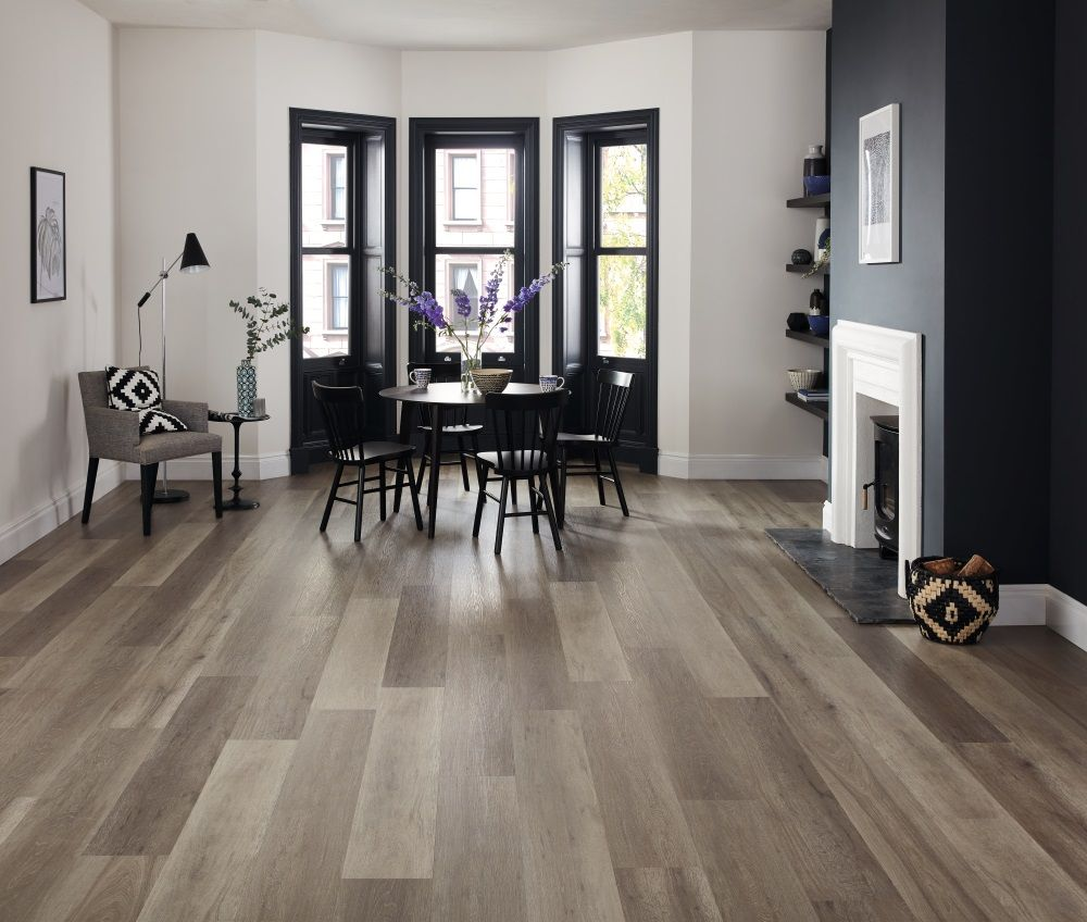 Captivating Karndean Korlok Washed Grey Ash Boasts A Smooth Selection Of Complex Grey  Tones. These Boards
