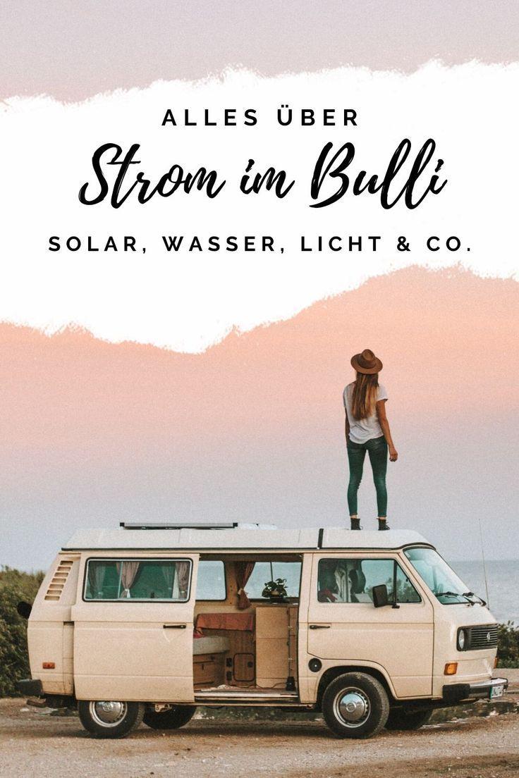 Photo of Strom im Bulli – Elektrik im Camper Van