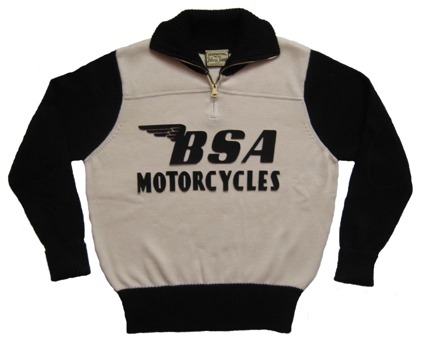 Bsa Vintage Sweater Retro Racing Pinterest