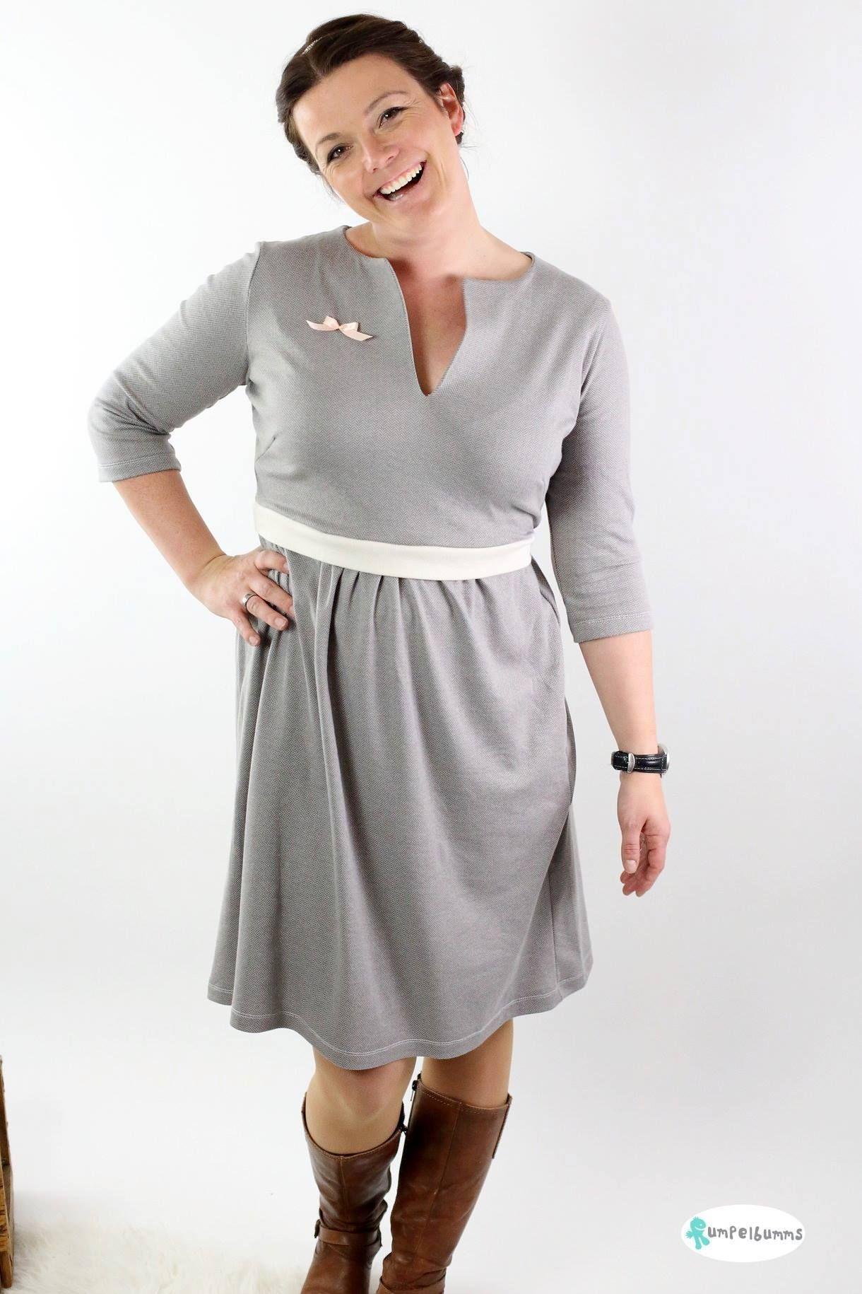 c83de005fb4 Schnittmuster  Kleid Elisabeth von Konfetti Patterns - elegantes Kleid für  Damen einfachh selber nähen!
