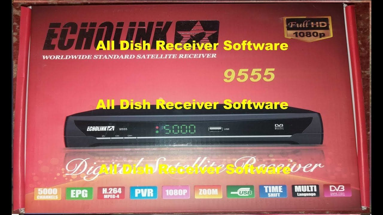 ECHOLINK 9555 HD RECEIVER AUTO ROLL BISS KEY NEW SOFTWARE | All Dish