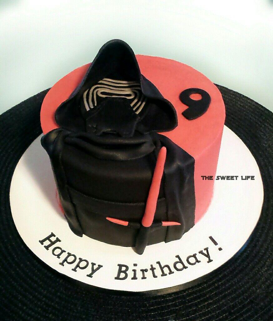 Kylo Ren Cake My Cakes Pinterest Cake And Birthdays