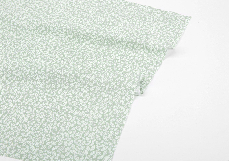 1 2 Yard 100 Cotton A Fresh Day Soft Green 62 Wide Dailylike Canada Linen Fabric Soft Green Canvas Fabric