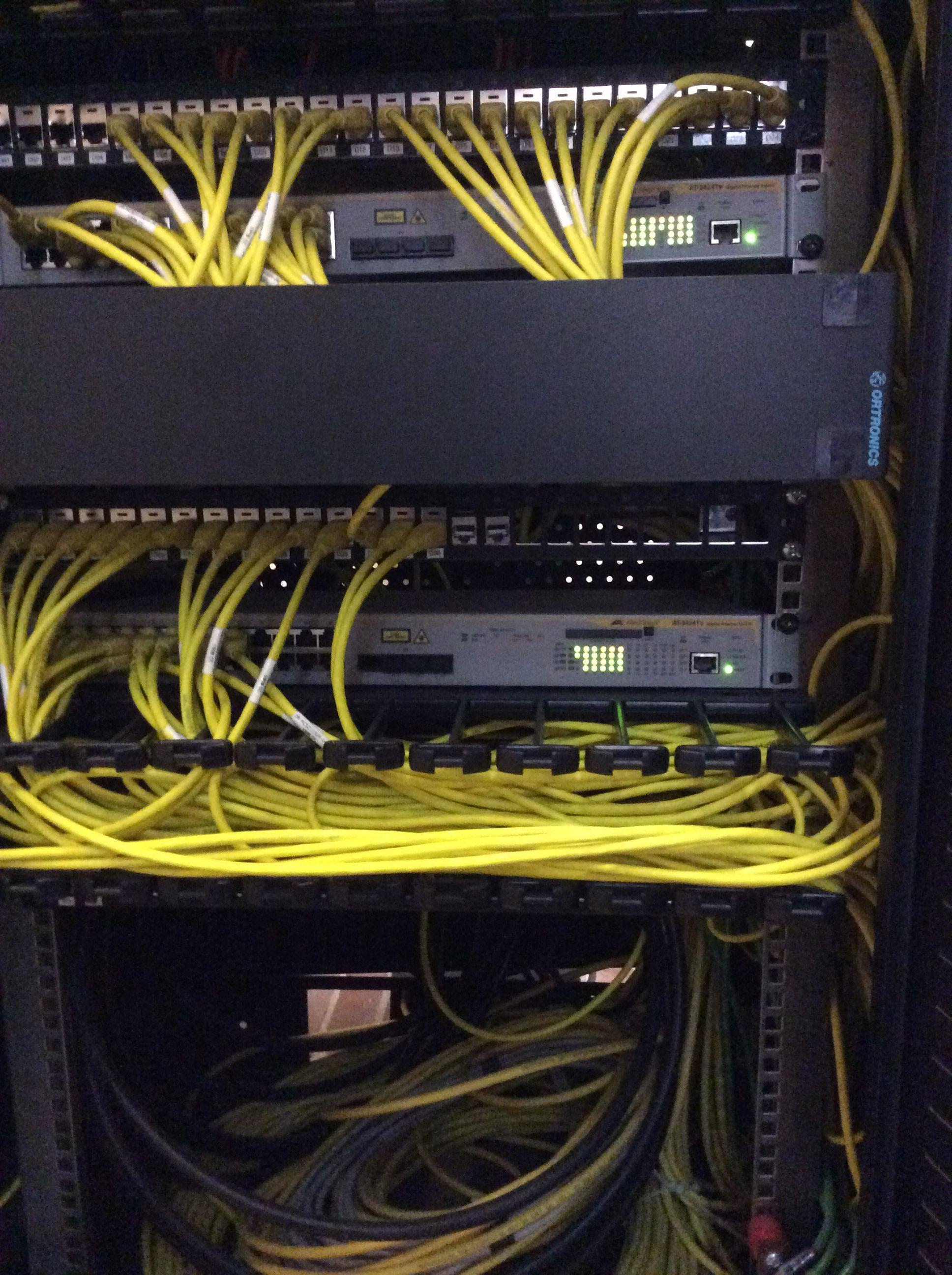Rack de comunicación Cat6A