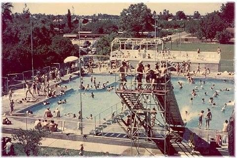 Blakeley S Swimmimg Pool Fresno California Fresno County Fresno City