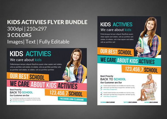 School Education Flyer Templates Flyer template, Template and