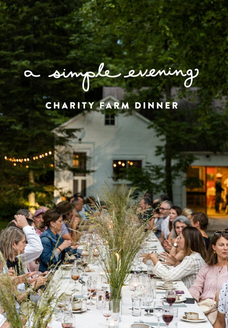 A Simple Evening: Charity Dinner at Cherry Basket   Fresh Exchange