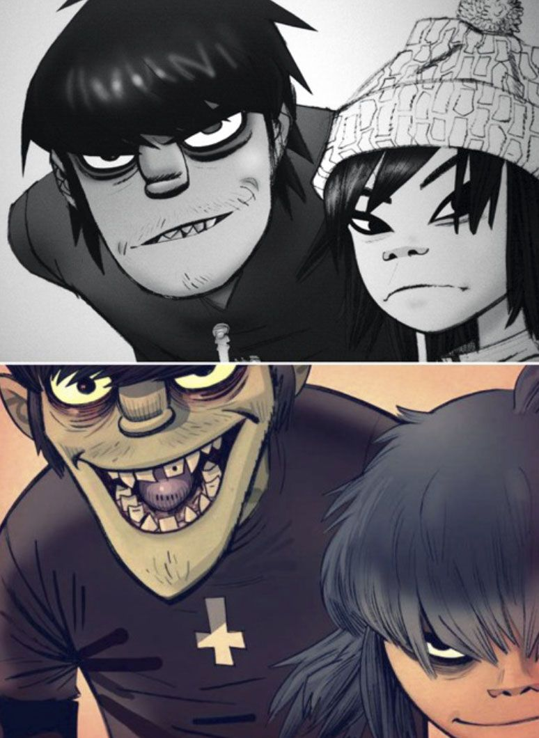 Murdoc and noodle dating services