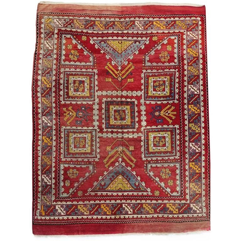 20th Century Turkish Canakkale Rug For Sale nel 2019