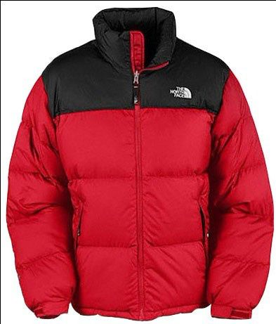dd97838a32a Hommes The North Face Soldes Nuptse Vente Bas Rouge Jacket