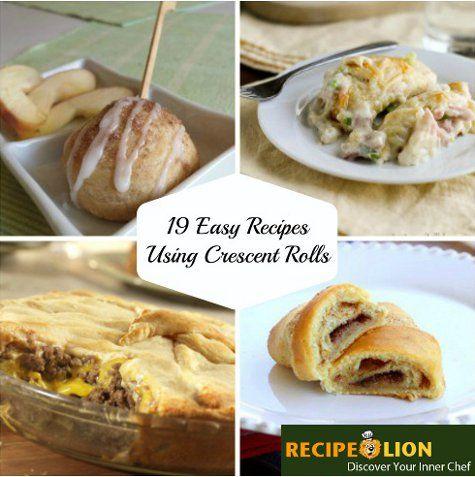 Easy dessert recipes using crescent rolls