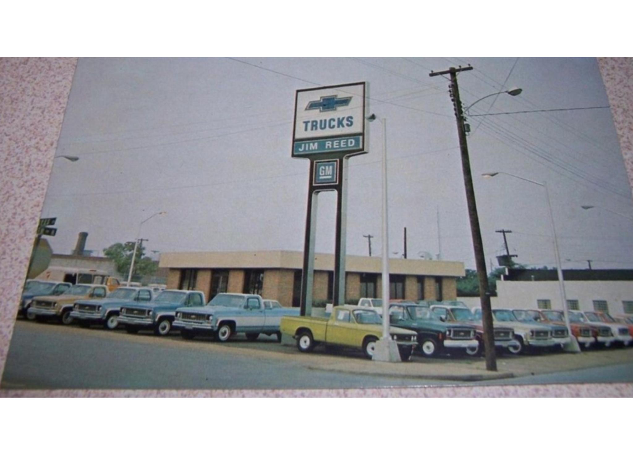 1975 Jim Reed Chevrolet Dealership Nashville Tennessee