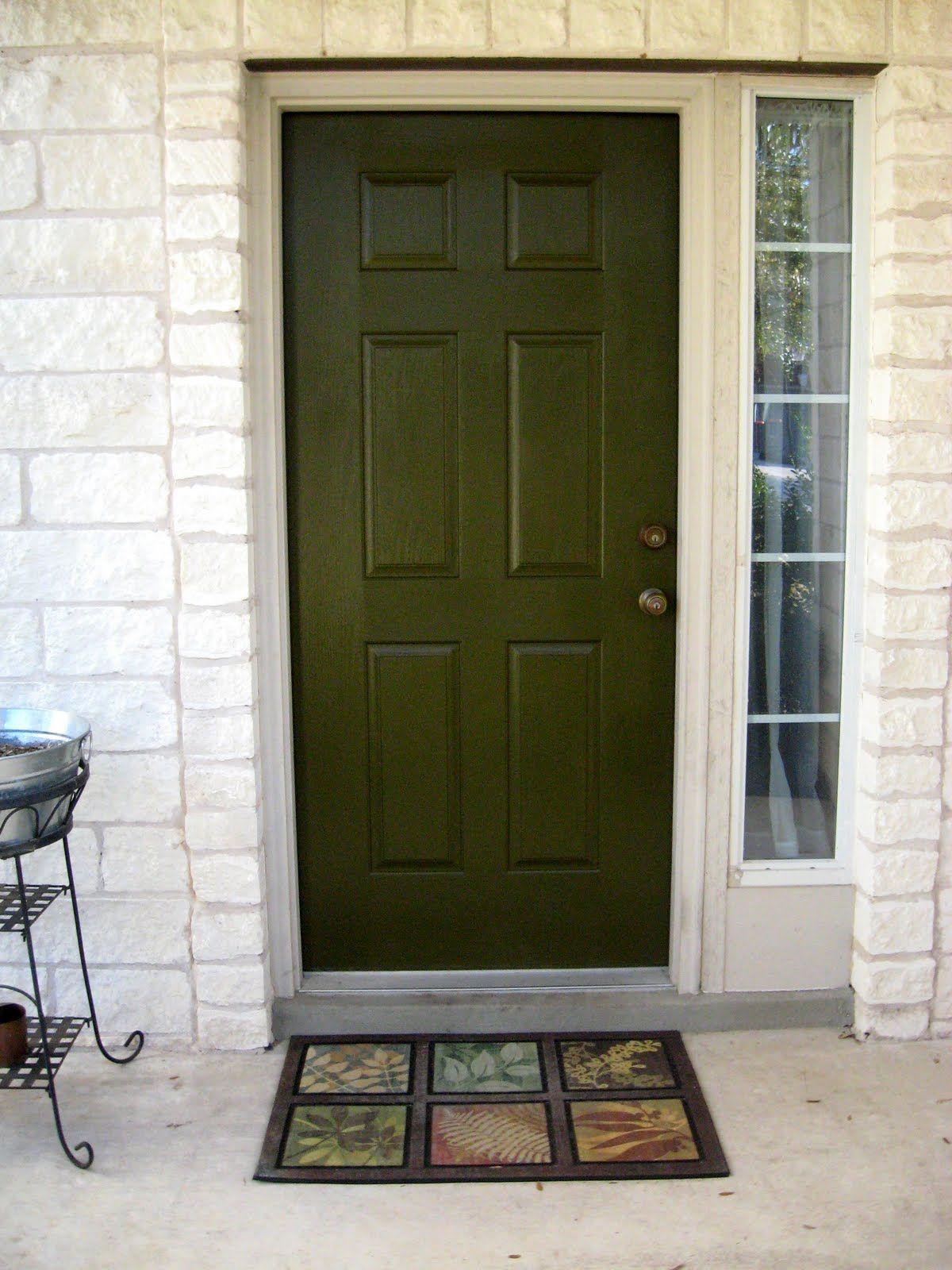 Bon Front Door Color Dark Olive Love It!