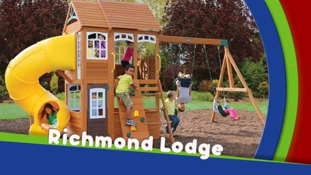 Wondrous Richmond Lodge Playsets Backyard For Kids Play Swing Home Remodeling Inspirations Genioncuboardxyz