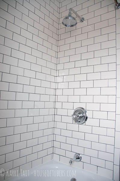 Taits New Bathroom Bathroom Pinterest Rain Shower Grout - New orleans bathroom remodeling