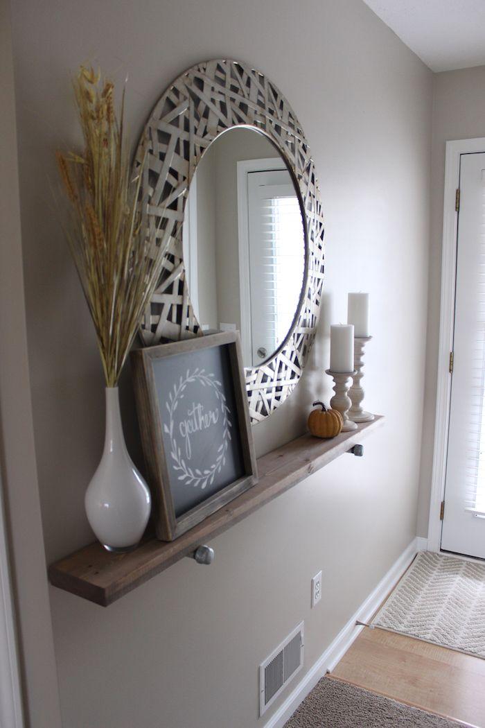 Diy Industrial Shelf Home Decor Apartment Decor Decor