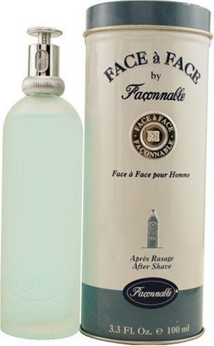 Face A Face By Faconnable For Men, Aftershave, 3.4-Ounce Bottle by Faconnable. $23.97. Packaging for this product may vary from that shown in the image above. Launched by the design house of Faconnable in 1996, FACE A FACE is a men's fragrance that possesses a blend of fresh and watery notes.  It is recommended for daytime wear.. Save 25% Off!