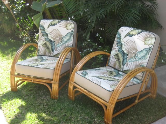 vintage rattan bamboo furniture Rattan, Rattan, Rattan! A House Full of Vintage Rattan Furniture  vintage rattan bamboo furniture