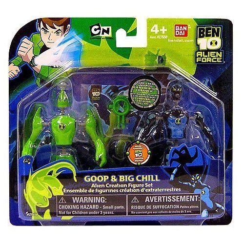 Amazon Ben 10 Alien Creation Chamber Mini Figure 2 Pack Goop And