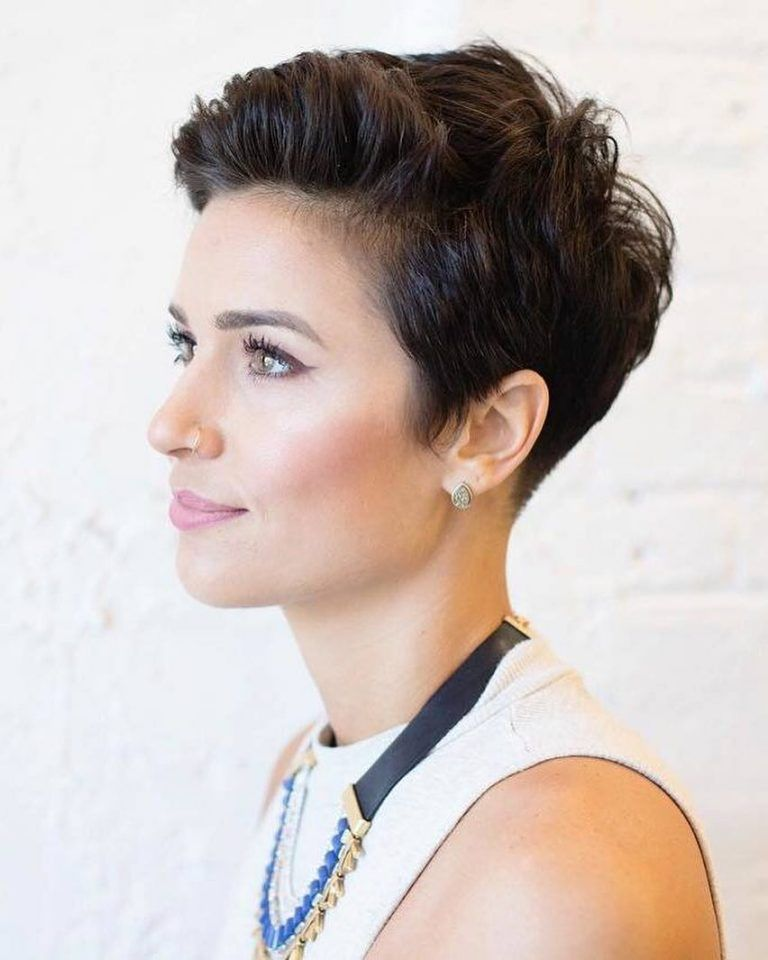 Pixie Haircuts For Beauty Laides 2019 Ladiesways Com Women Hairstyles Blog Pixie Haircut For Thick Hair Haircut For Thick Hair Hair Styles