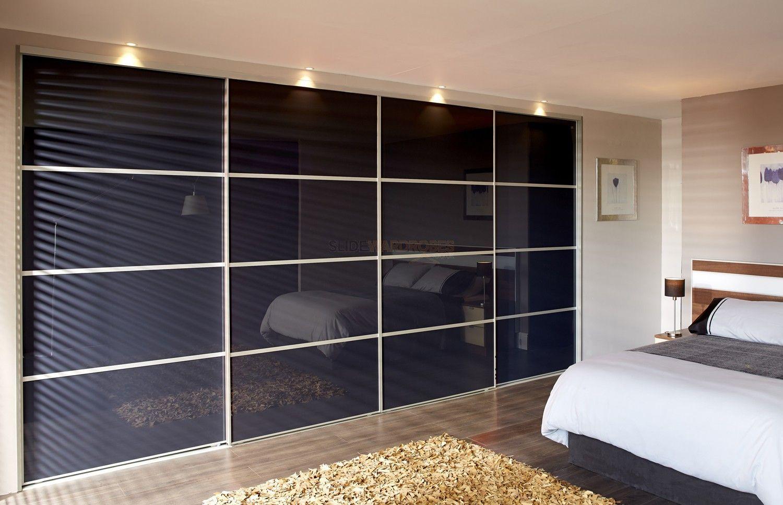 4 Door Sliding Wardrobe Wall To Wall Sliding Wardrobe Doors