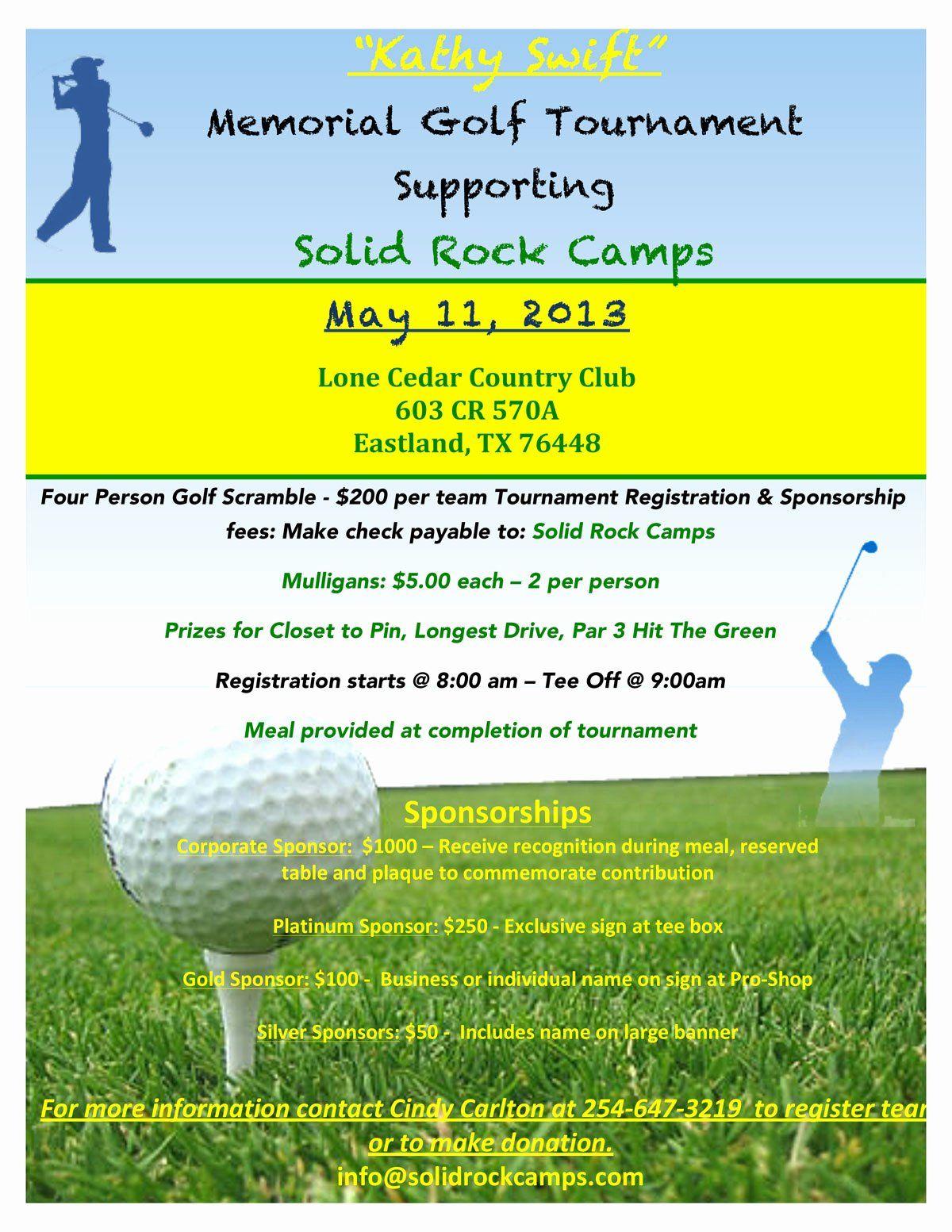 Golf Scramble Flyer Template New Golf Tournament Brochure Template Fresh Flyer Gol Golf Flyer Flyer Template Golf Outing