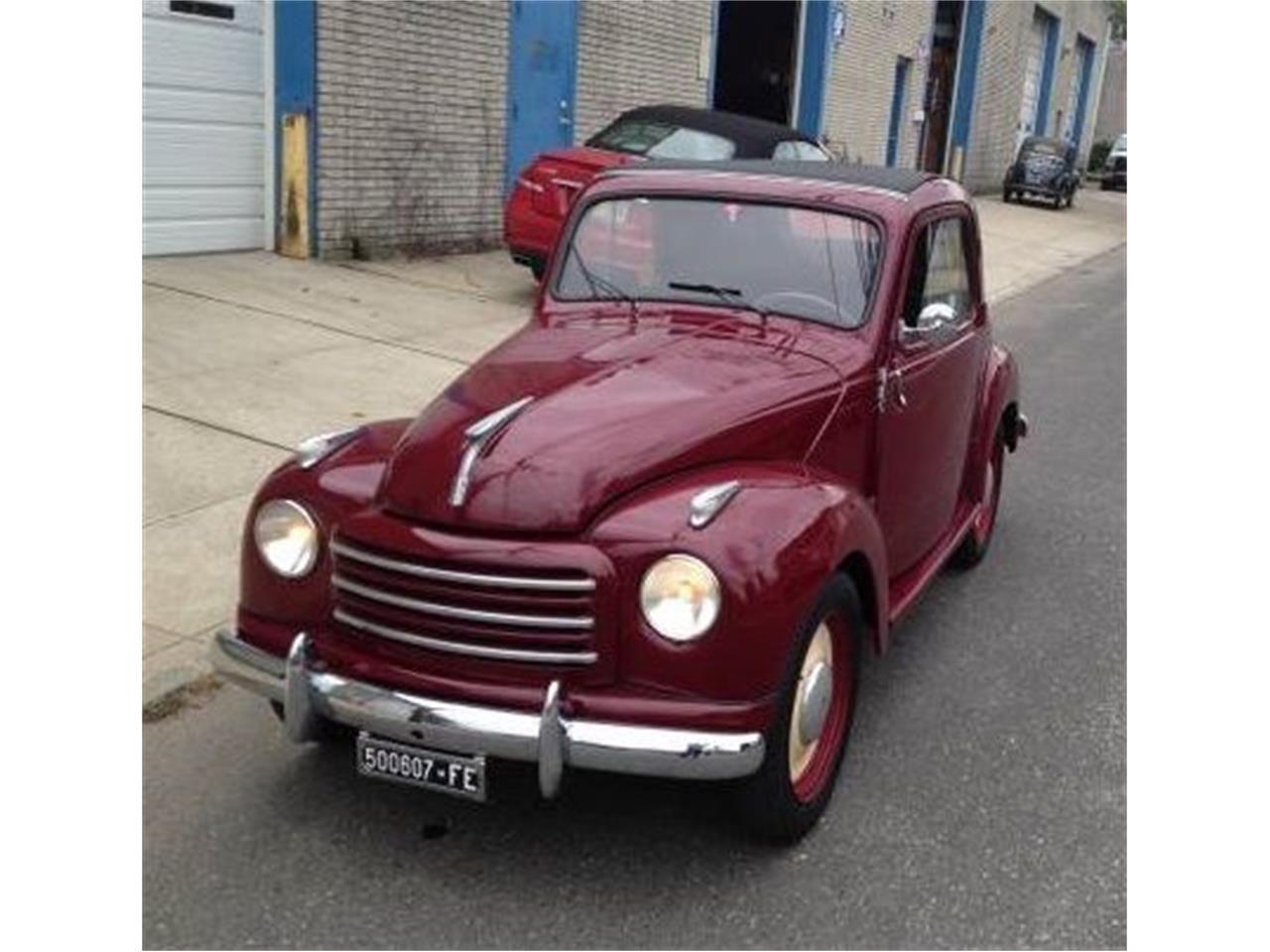 New Car Old Car 1953 Fiat 500l Fiat 500l Fiat New Cars