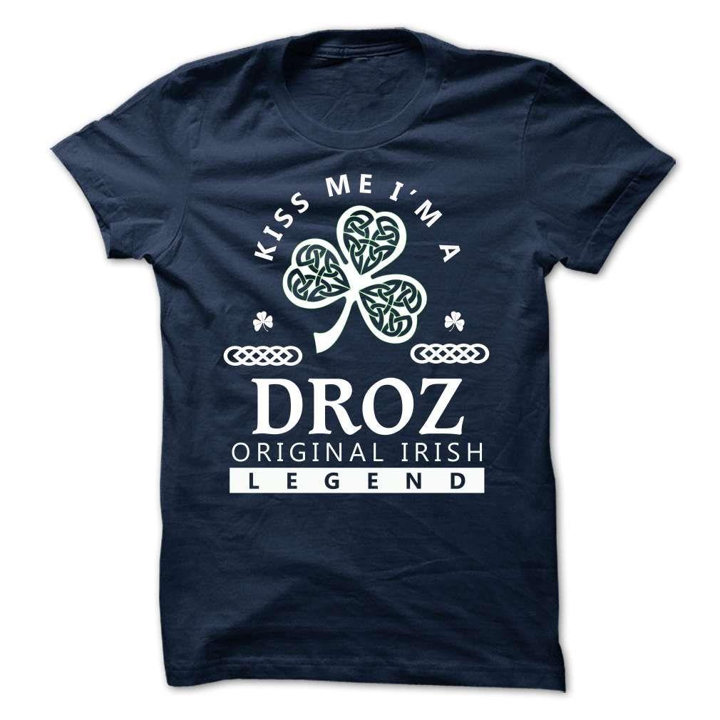 (Tshirt Best Gift) DROZ Kiss Me Im Team Shirts 2016 Hoodies