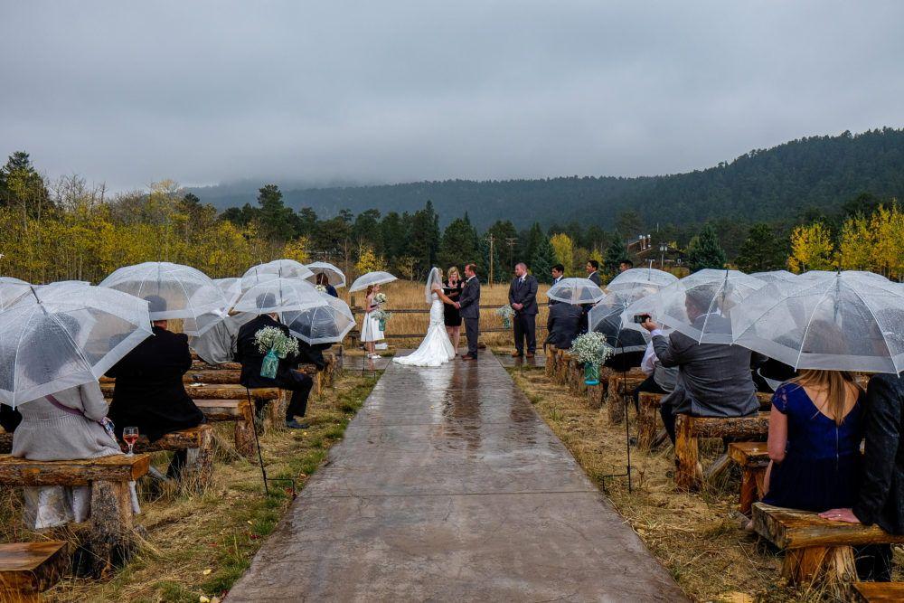 Real Weddings from Wild Basin Lodge Wild Basin Lodge
