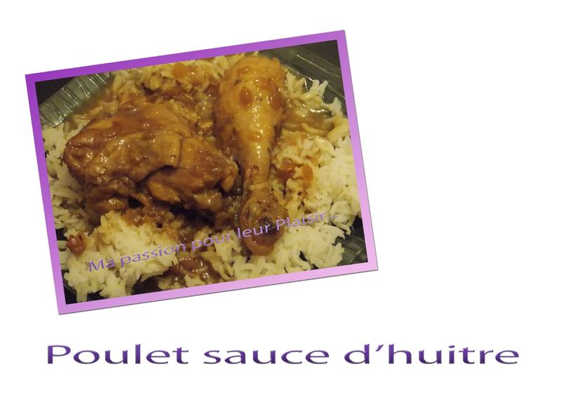 poulet sauce d'huitre