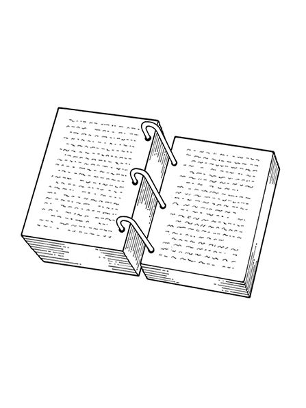 A black-and-white illustration of the golden plates. | Primary 5 ...