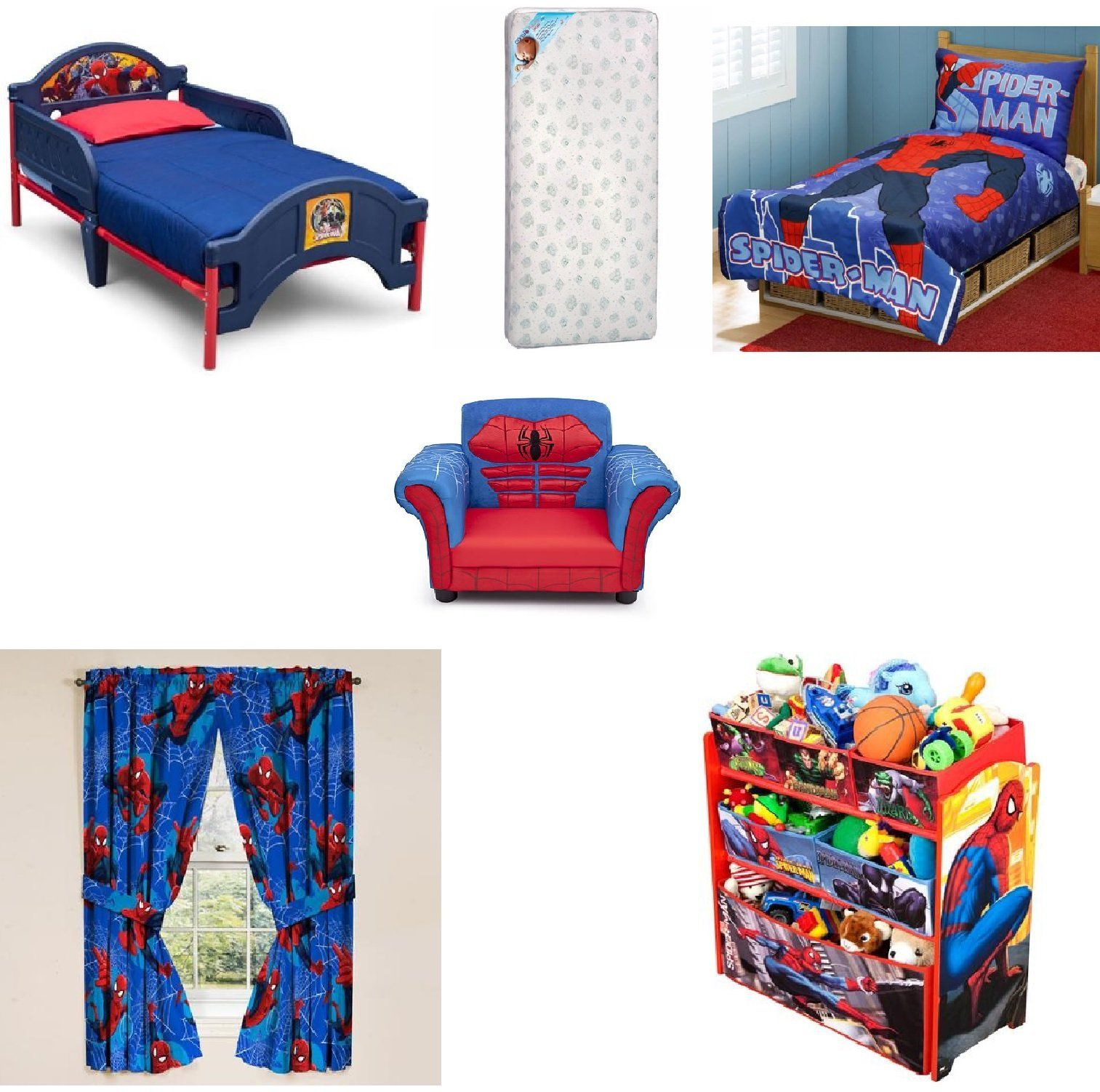 Best Toddler Character Bed Mattress And Complete Bedding 640 x 480