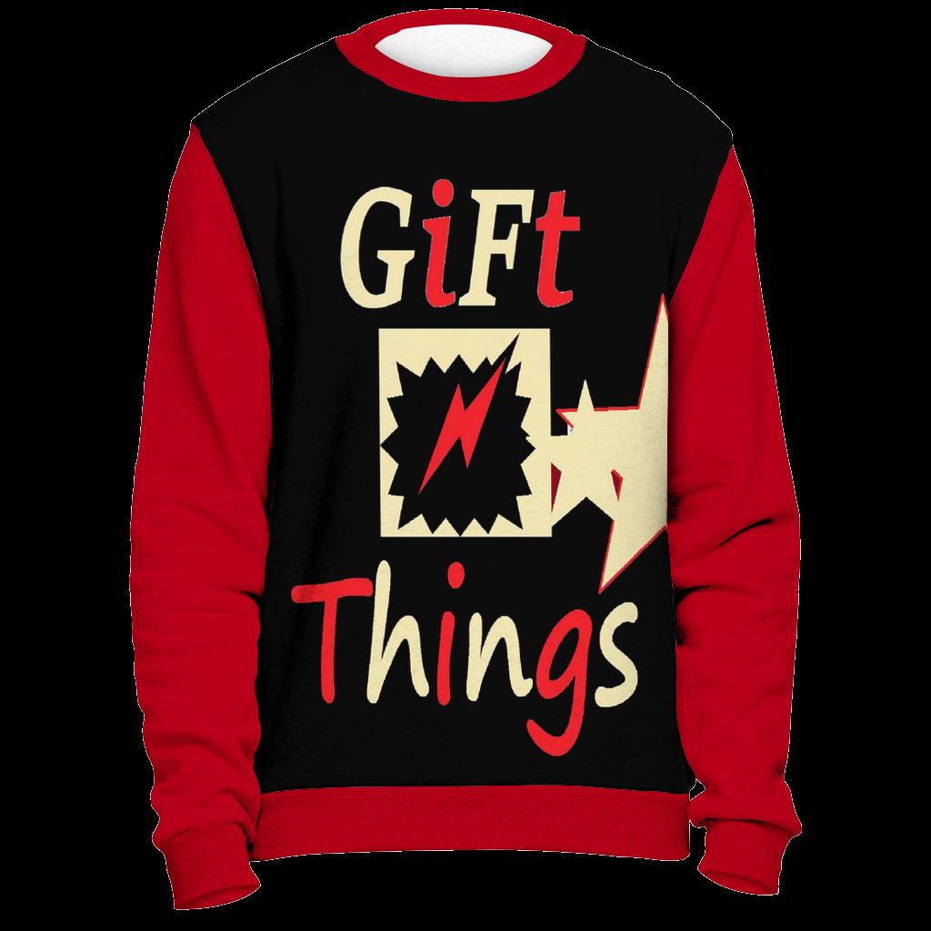 All Over Print Sweatshirt Your design, logo, print