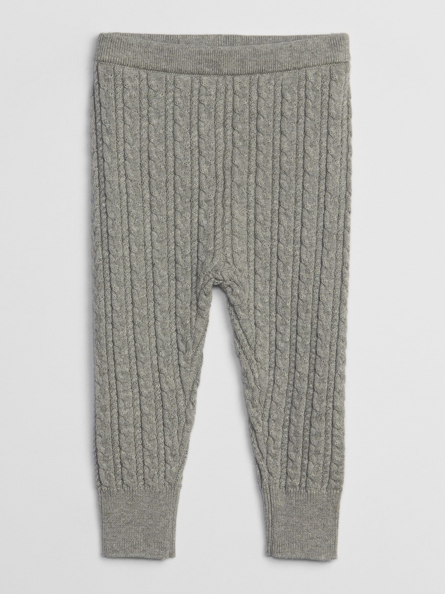 Gap Baby Baby Cable Knit Sweater Leggings Grey Heather Sweaters Leggings Cable Knit Sweaters Cable Knit