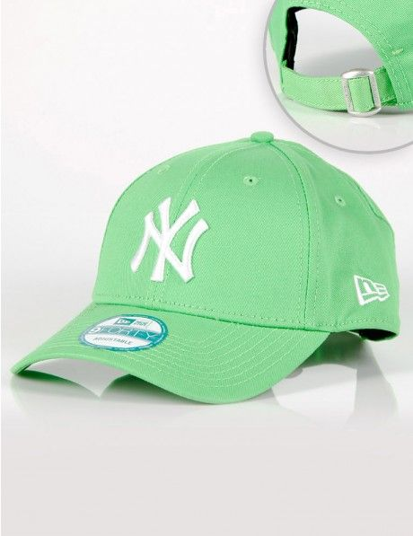 New Era 9Forty League Basic New York Yankees Lime green €20 ... 3ad9a3ab377
