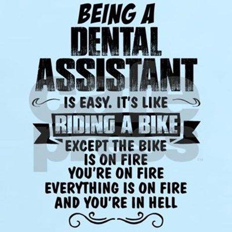 Being A Dental Assistant.... Light T-Shirt Being A Dental Assistant.... T-Shirt by omadesign #dentalassistant