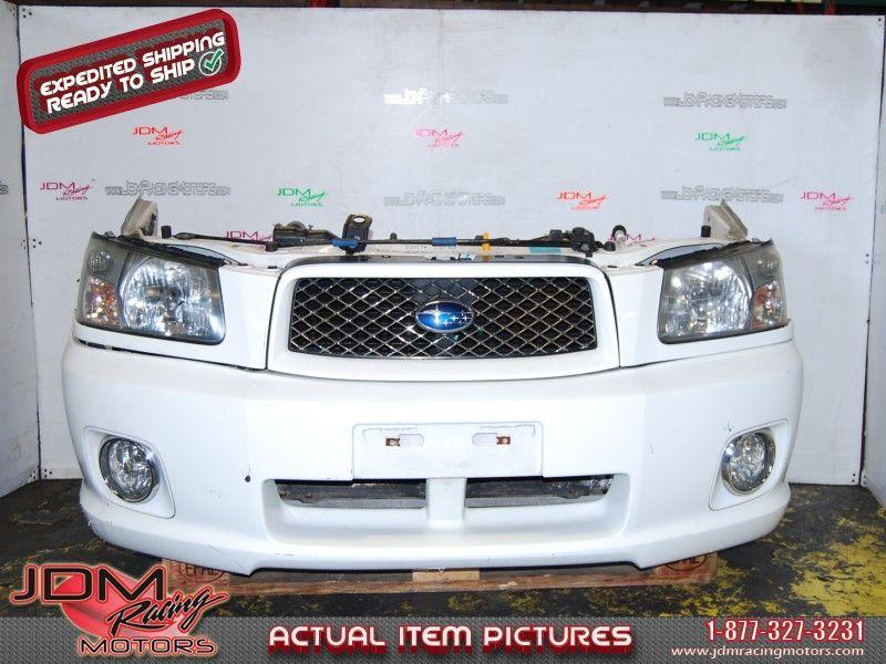 JDM Subaru Forester Cross Sport Front Bumper, Radiator, Frame & HID