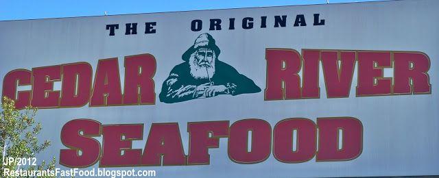 Cedar River Seafood Restaurant Lake City Florida Us Hwy 90