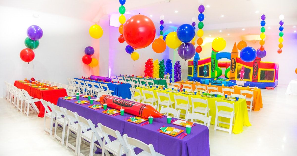 This Creative Crayon Themed Birthday Dazzled In An Array Of Brightly Colored Decor Crayola Birthday Party Crayon Birthday Parties Baby Boy 1st Birthday Party