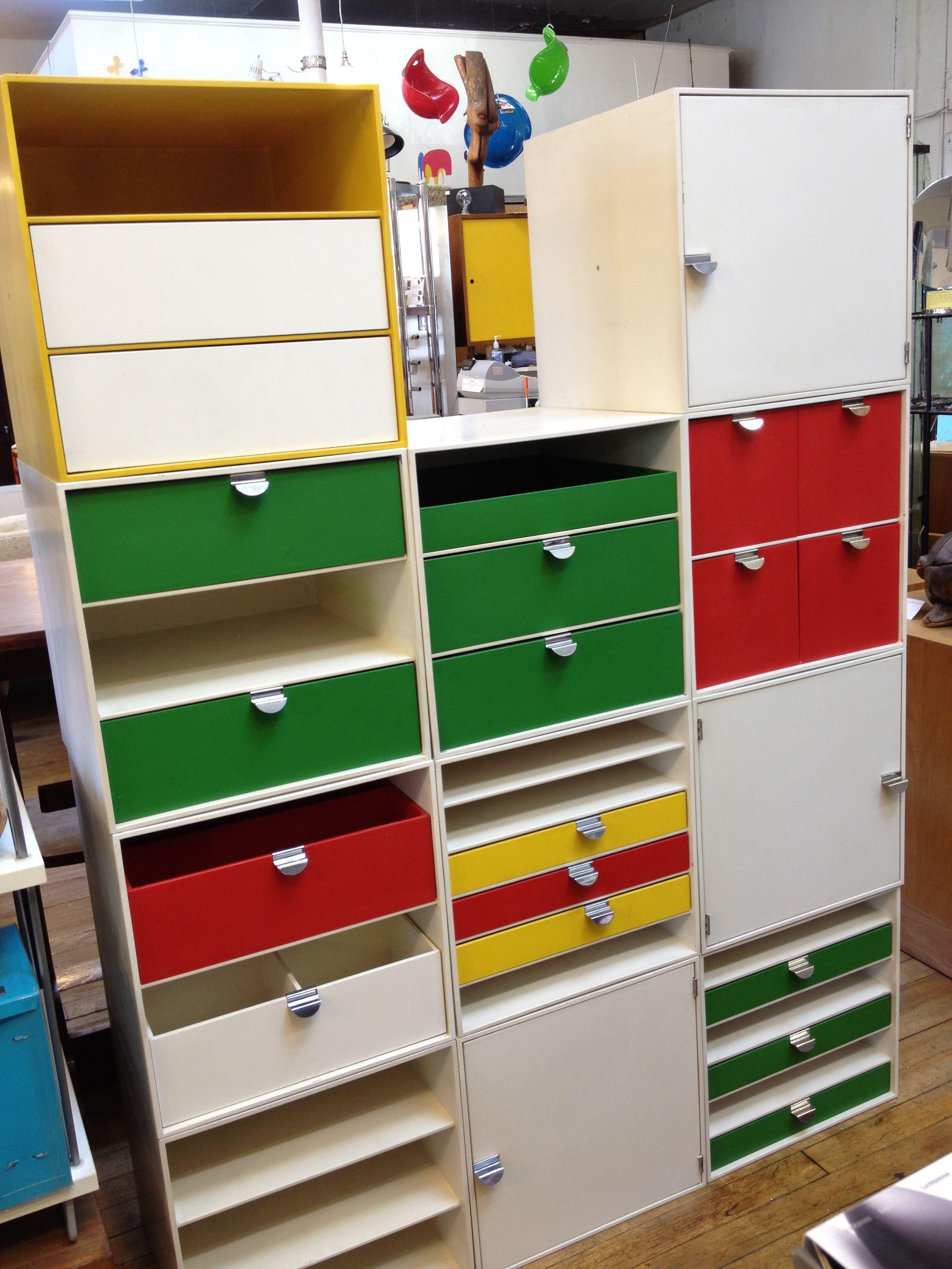 My Little Pony Metal Toy Storage Unit Box Organiser Kids: Vintage Palaset Cube Storage At Abodeon. Organize