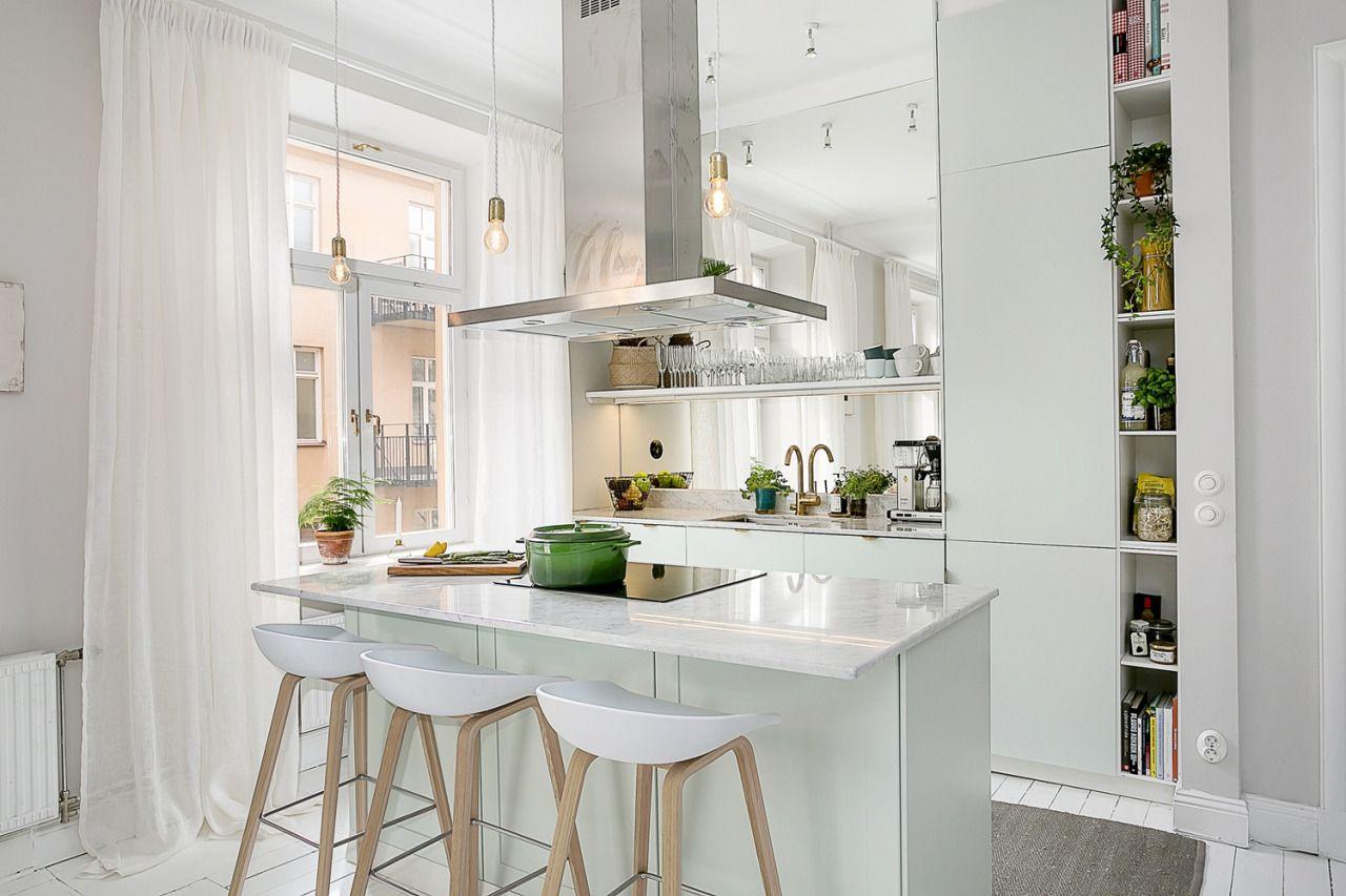 Küchendesign marmor white kitchen  kitchen design  pinterest  küchen ideen barstühle