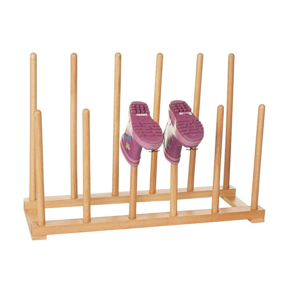 Howards storage world wooden boot rack the perfect - Howards storage ...