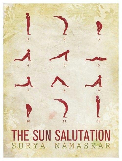 Sun Salutations #yoga I do this every morning