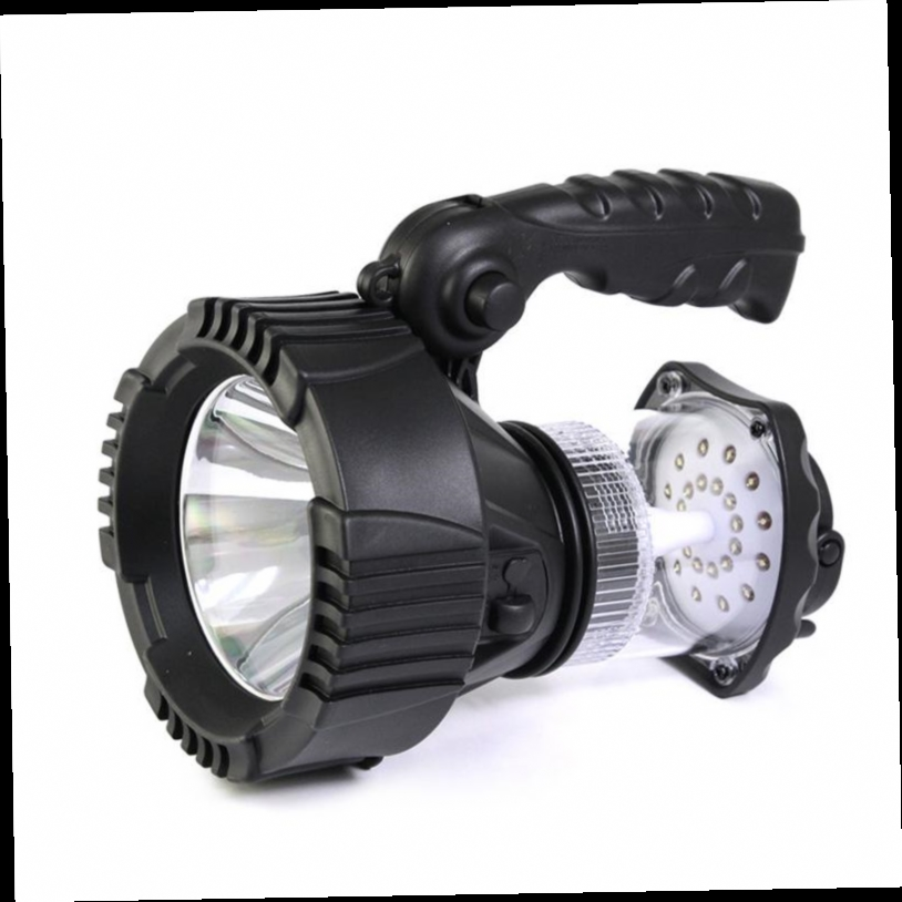 44.00$  Buy now - http://aliyxt.worldwells.pw/go.php?t=32760258535 - Flashlight Torch Searchlight flood light outdoor sport camping fishing hunting  power bank bright CREE LED 5W spotlight