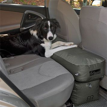 Dog Car Seat Extender Inflatable Seat Extender Orvis Dog Car Seats Car Seats Dog Car