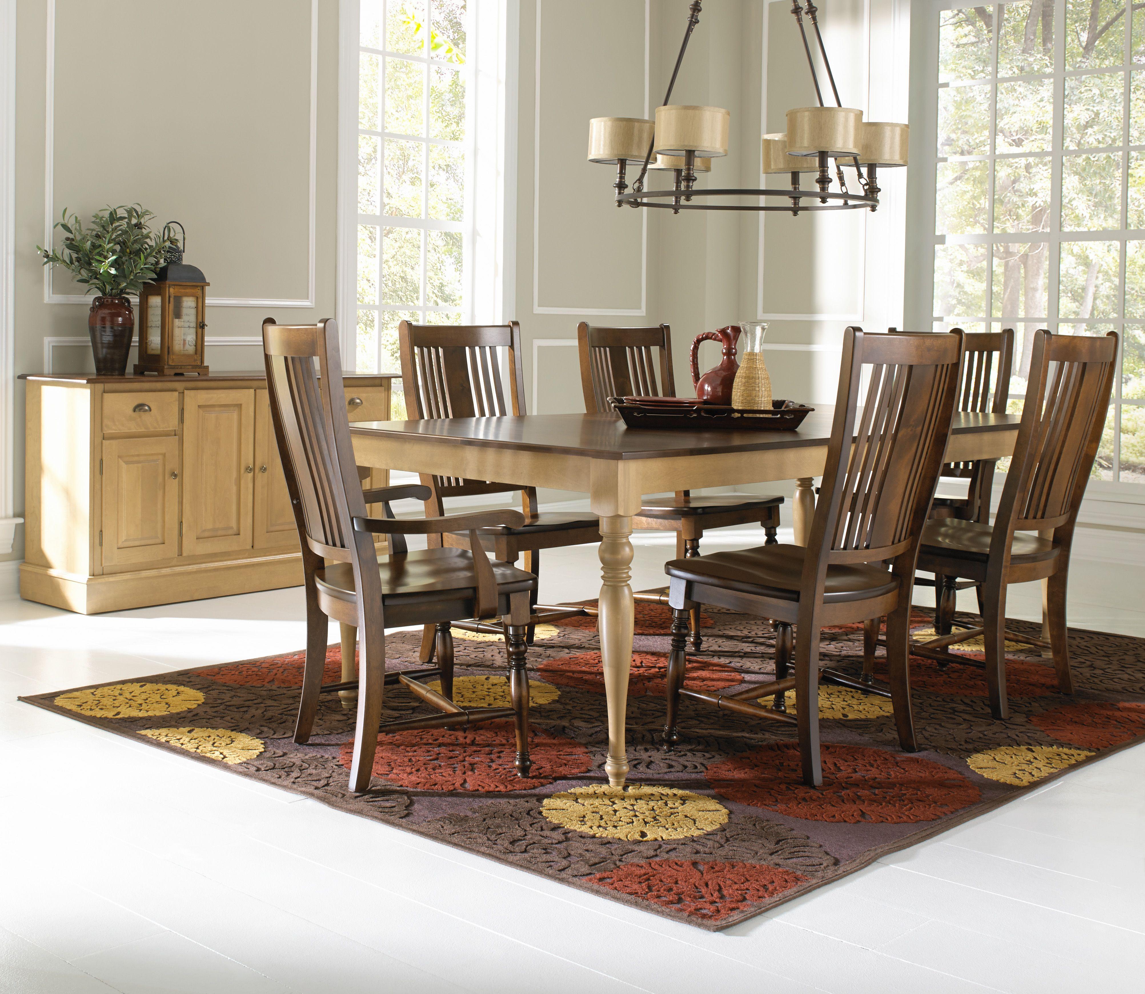 Canadel Loft 7 Piece Dining Set Kitchen sets