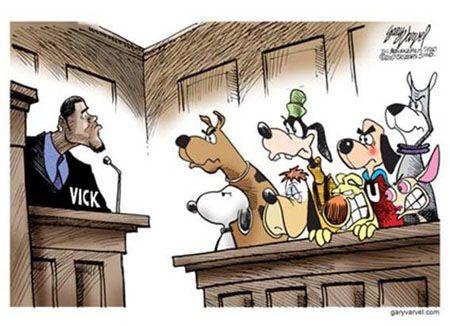 Sensational Vick On Trial Dog Jury Michael Vick Facing Cartoon Dog Download Free Architecture Designs Scobabritishbridgeorg