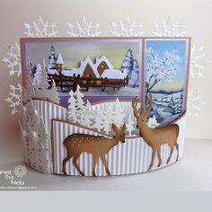 christmas bendy card - Google Search